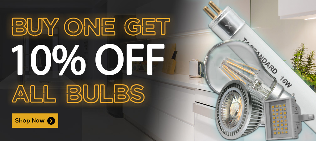 Buy 1 Get 1 10% Off All Bulbs