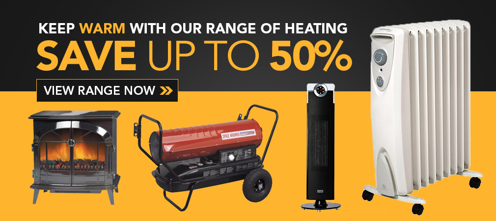 Up to 50% Off Heating this Winter!