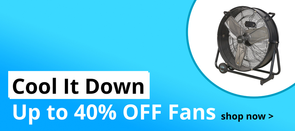 Cool it Down - Up to 40% Off Fans