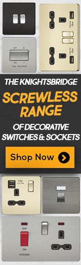 Knightsbridge Screwless Switches & Socket Ranges
