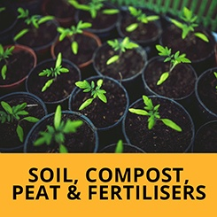 Soil, Compost, Peat & Fertilisers