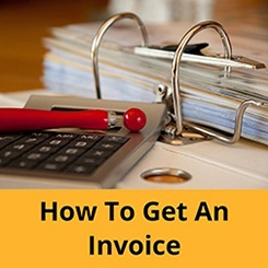 How to get an invoice