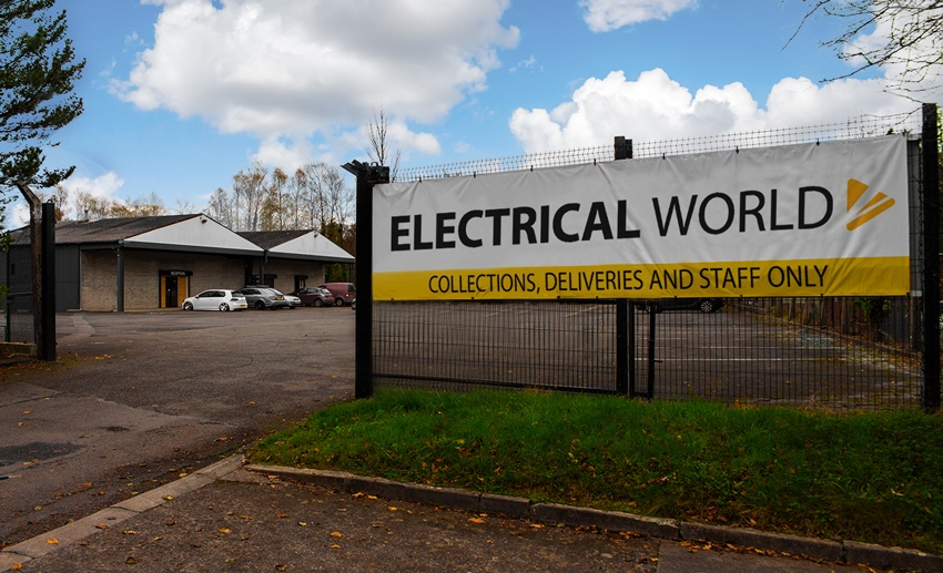 The Electrical World Warehouse - The Distribution Hub