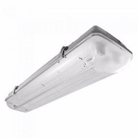 Eterna 58w Twin 5 Foot IP65 240V Non-Corrosive Weatherproof Fluorescent Fitting