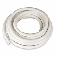 Termination Technology 20mm White Flexible Electrical Corrugated Conduit Plastic PVC Pipe