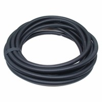 Termination Technology 20mm Black Flexible Electrical Corrugated Conduit Plastic PVC Pipe