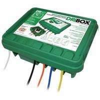Dribox Weatherproof Powercord Connection Box Outdoor Safety Enclosure