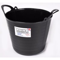 Rhino 26L Heavy Duty Flexi Flexible Garden Container Storage Bucket Tub