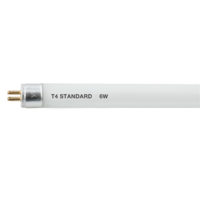 KnightsBridge T4 6W 220mm Slimline 835 4000K Cool White Fluorescent Tube Light