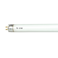 KnightsBridge T5 G5 21W Cool White 3500K Under Cabinet Fluorescent Tube Light