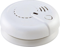 KnightsBridge Optical Smoke Alarm 230V Mains / 9V Back up Battery