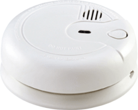 KnightsBridge Ionisation Electric Smoke Alarm 230V Mains / 9V  Back up Battery