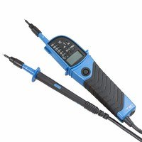 KnightsBridge CAT III IP64 2 Pole Voltage Tester - LED & LCD Display