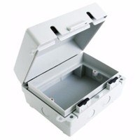 Eterna 2G IP65 Weatherproof Outdoor Switch Socket Accessory Box