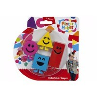 Mister Maker Set Of 4 Mister Maker Official CBeebies Collectible Shapes