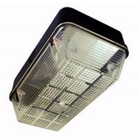 Eterna 100W IP65 BC B22d Polycarbonate Base Diffuser Vandal Bulkhead (Option: Black Base)