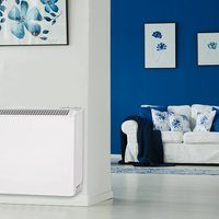 Elnur 1.7Kw 8 Brick Static Automatic Night Charge Control Storage Heater