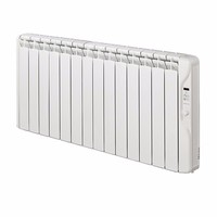 Elnur 1.5kW Small 24 Hour Digital 14 Module Oil Filled Electric Panel Radiator Heater