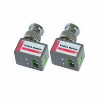 OYN-X BNC to Cat5 Right Angled Video Balun for CCTV (Pair)