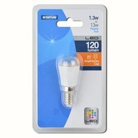 Status 1.3W Warm White Small Edison Screw SES LED Pygmy Light Bulb