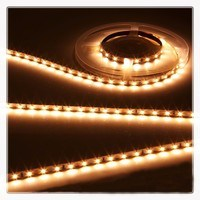 KnightsBridge Warm White 12V LED IP20 Flexible Indoor Internal Rope Lighting Strip