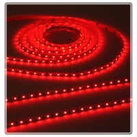 KnightsBridge Red 12V LED IP20 Flexible Indoor Internal Rope Lighting Strip - 5 Meter