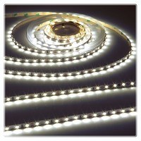 KnightsBridge Cool White 12V LED IP67 Flexible Outdoor Rope Lighting Strip - 5 Meter