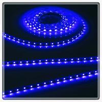 KnightsBridge Blue 12V LED IP67 Flexible Outdoor Rope Lighting Strip - 5 Meter