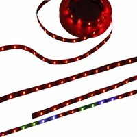 KnightsBridge RGB Colour Changing 24V LED IP20 Flexible Indoor Rope Lighting Strip - 3 Meter