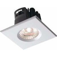 KnightsBridge Traditional IP65 Square Fire Rated Bezels for FireKnight (Option: White)