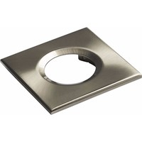 KnightsBridge Traditional IP65 Square Fire Rated Bezels for FireKnight (Option: Brushed Chrome)