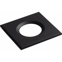 KnightsBridge Traditional IP65 Square Fire Rated Bezels for FireKnight (Option: Black)