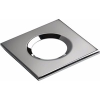 KnightsBridge Traditional IP65 Square Fire Rated Bezels for FireKnight (Option: Chrome)