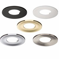 KnightsBridge Traditional IP65 Round Fire Rated Bezels for Fixed ProKnight