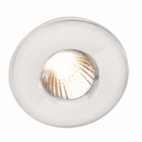 KnightsBridge IP65 Low Voltage MR16 Fire Rated Shower Downlight (Option: White)