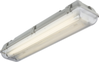 KnightsBridge Twin T8 58W IP65 240V Emergency Backup Non-Corrosive Lamp Fitting