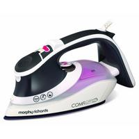 Morphy Richards Purple Comfigrip 2600W Steam Clothes Ionic Iron