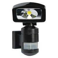 NightWatcher LED Robotic Security Light - Black