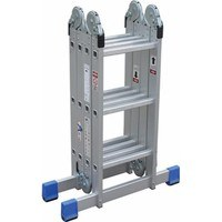 Greenbrook Multi Position Locking Collapsable Aluminum Ladder