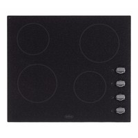 Belling 60cm 4 Zone Electric Ceramic Hob With Granite Effect & Rotary Controls