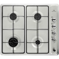 New World Stainless Steel 4 Gas Burner Hob LPG Compatible