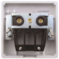 ESR Sline 45A White 1G Cooker Cable Connection Unit Electric Wall Box