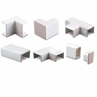 Zexum 16mm x 16mm Mini Trunking Accessories