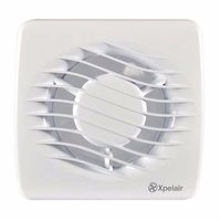 "Xpelair 4"" Bathroom Extractor Fan with Wall & Window Kit"