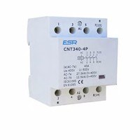 ESR 4 Pole Contactor Module For Domestic Consumer Units