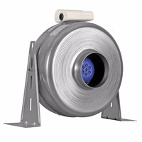 Xpelair XID150 150mm Metal Centrifugal Inline Duct Fan