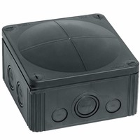 Wiska Combi 1010/5 57A Black IP66 Weatherproof Junction Adaptable Box Enclosure With 5 Way Connector