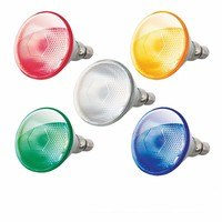 KnightsBridge PAR38 80W Halogen Flood Reflector Edison Screw ES Spot Bulb