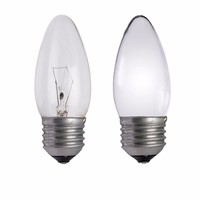 Status 40W ES E27 Incandescent Candle Light Bulb
