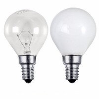 Status 25W SES E14 Incandescent Round Golf Ball Light Bulb